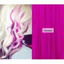 Цветное ленточное наращивание волос