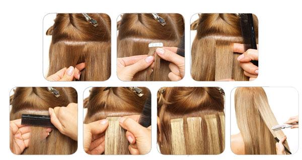 Всё о ленточном наращивании волос hair talk